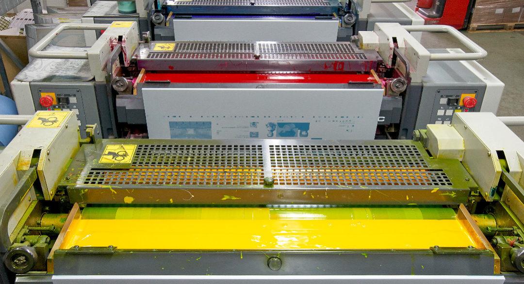 Machines d'imprimerie